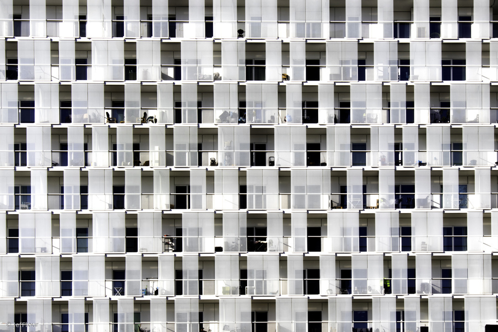 View this piece of fine art photography titled White flats by Jef Flour