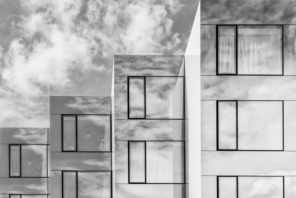A piece of fine art art photography titled Residence of the Clouds by Luc Vangindertael (laGrange)