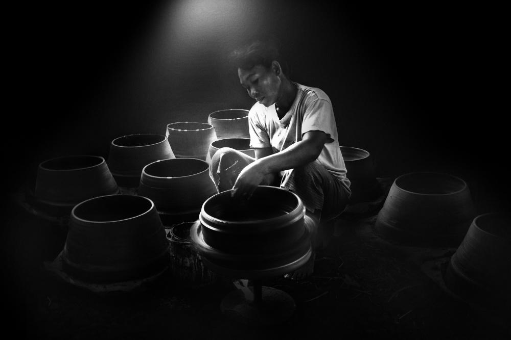 A piece of fine art art photography titled Hidupku by ichmunandar
