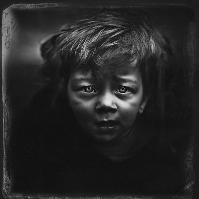 A piece of fine art art photography titled Leny by Jorris Martinez