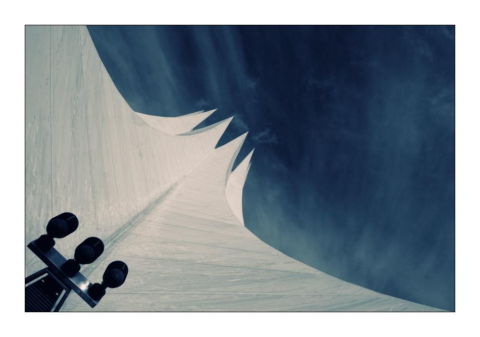A piece of fine art art photography titled ~ Tempodrom ~ by Der Juergen