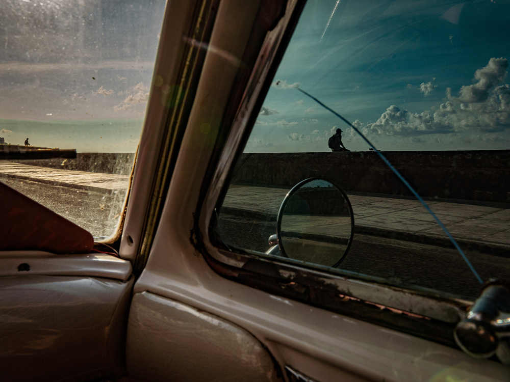 A piece of fine art art photography titled Through the Window by Andreas Bauer