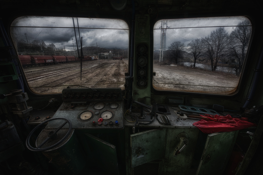 A piece of fine art art photography titled Train by Matteo Musetti