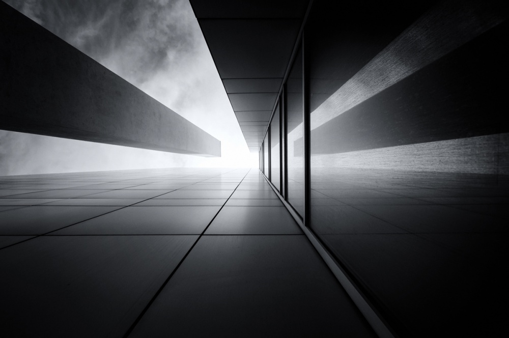 A piece of fine art art photography titled Convergence by darko ivancevic