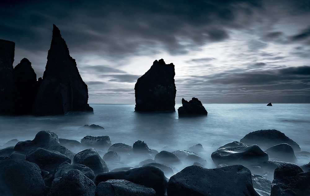 View this piece of fine art photography titled Moonlight by Þorsteinn H. Ingibergsson