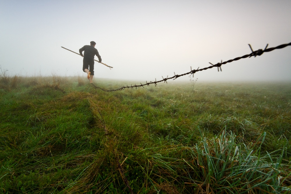 A piece of fine art art photography titled The Way Through Life by Leszek Paradowski