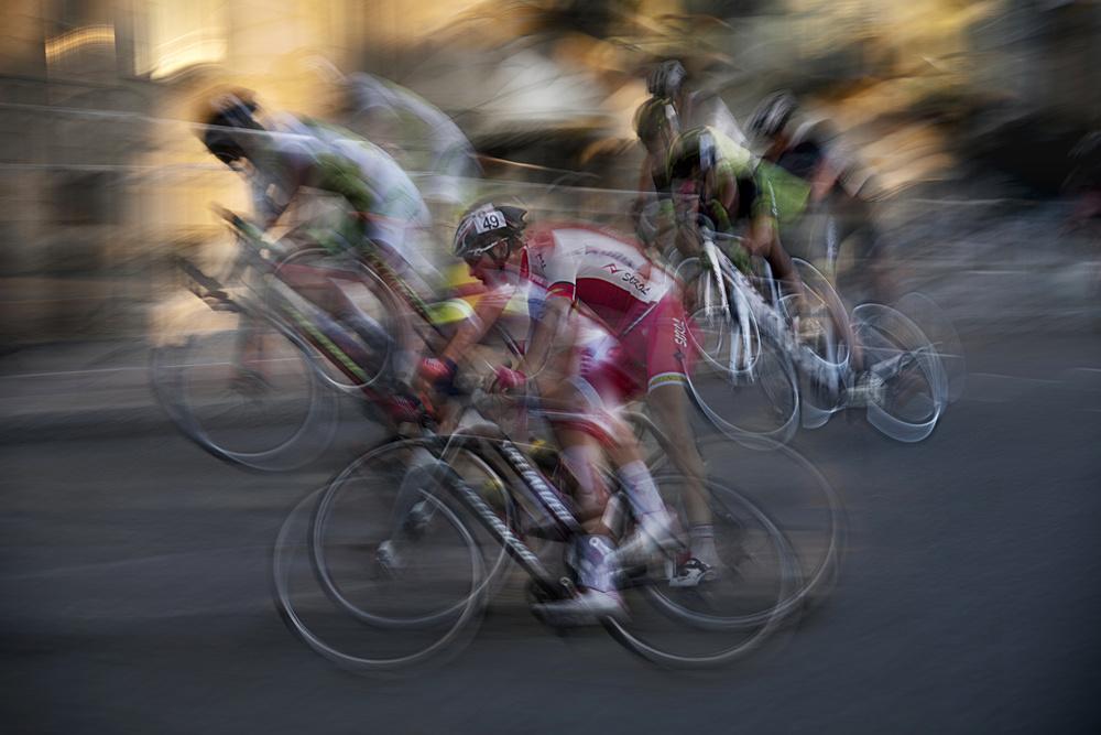 A piece of fine art art photography titled Night Race by milan malovrh