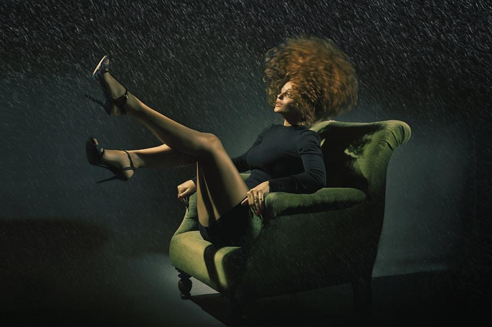 A piece of fine art art photography titled Evelin by Oren Hayman