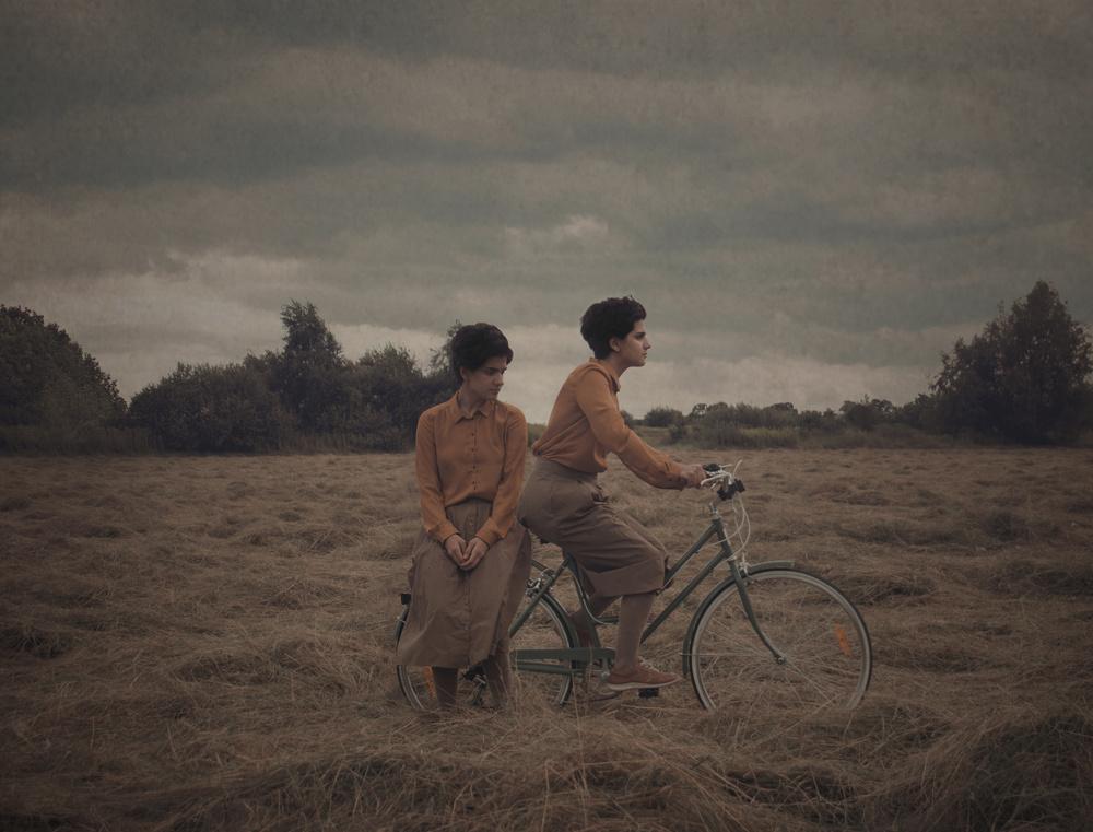 A piece of fine art art photography titled Twins by Elnaz Abedi
