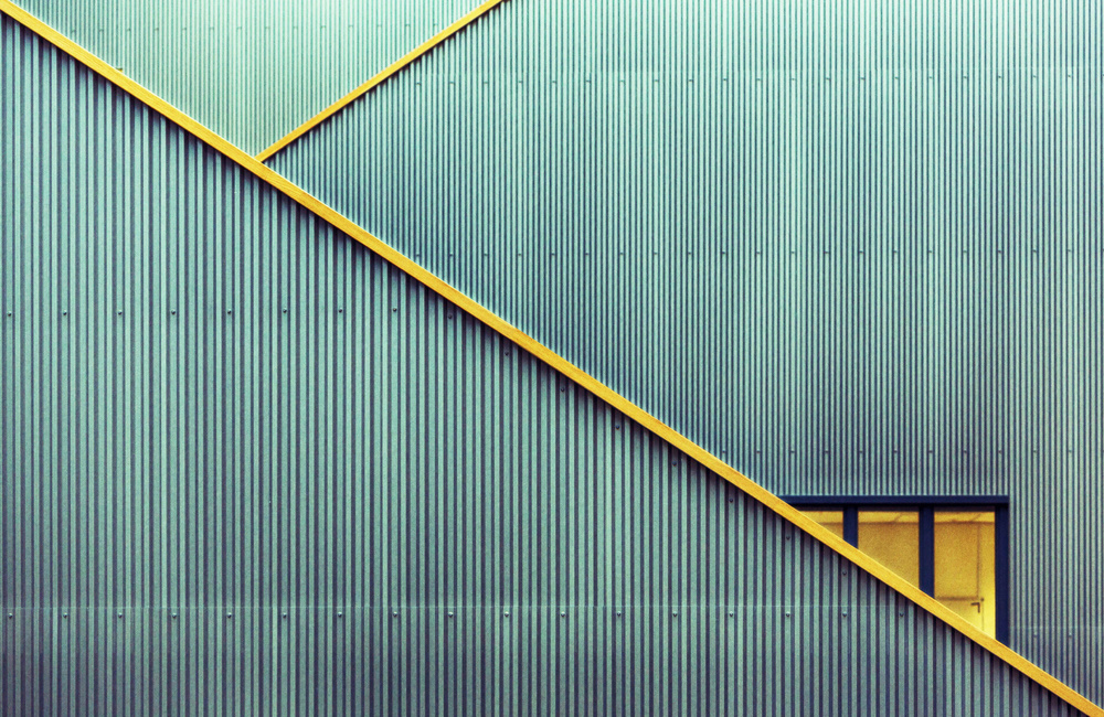 A piece of fine art art photography titled Stairs by jan niezen