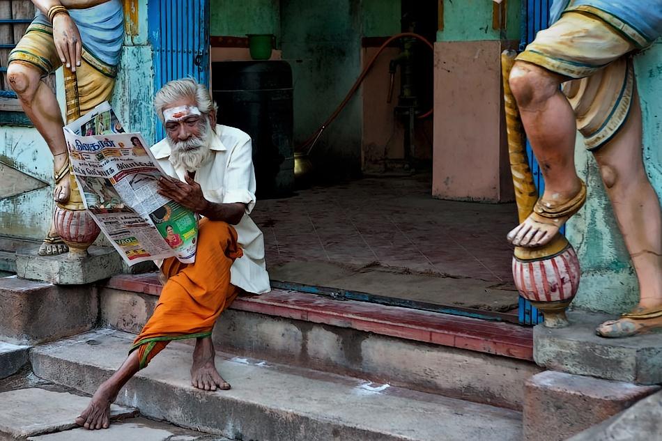 A piece of fine art art photography titled Between Legs by oochappan