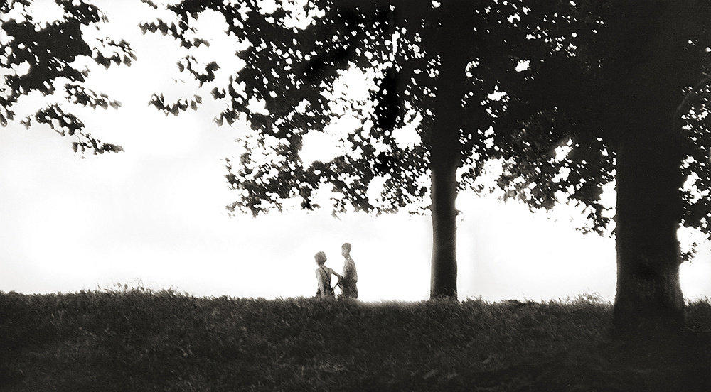 A piece of fine art art photography titled Childhood - Vienna/Austria 1971 by Robert Komarek
