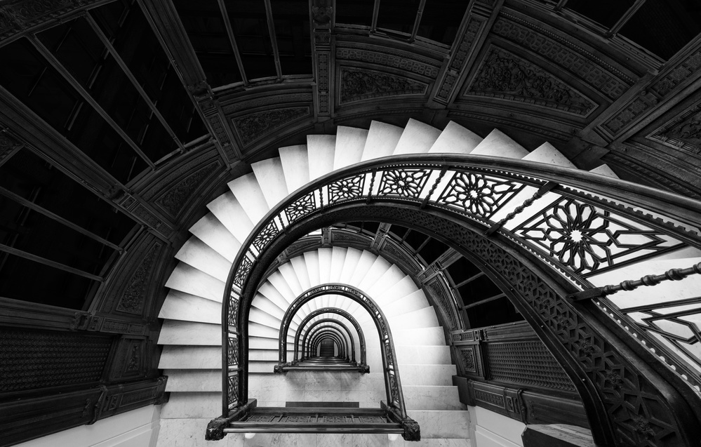 View this piece of fine art photography titled Staircase by Ibrahim Nabeel