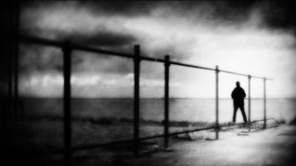 A piece of fine art art photography titled It´s Not the End by Ina Tänzer