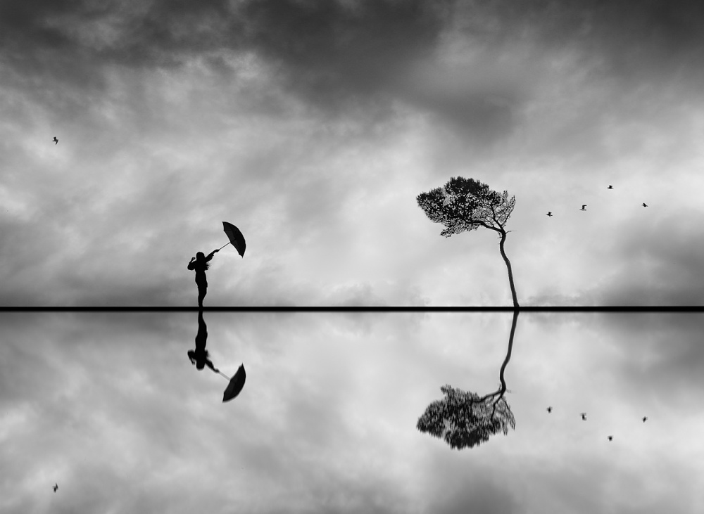 A piece of fine art art photography titled Parentheses by Filipe Correia