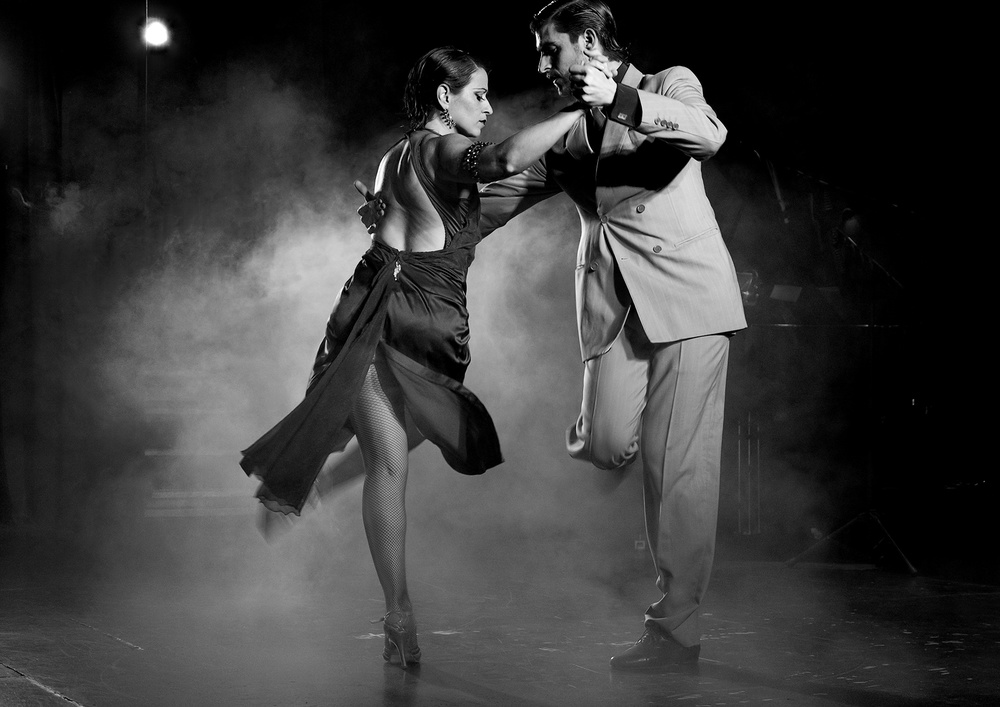A piece of fine art art photography titled Tango by Luis Borges Alves