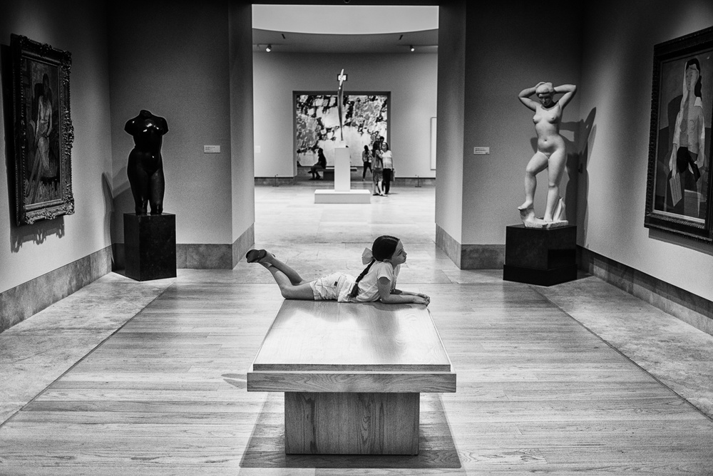 A piece of fine art art photography titled Young Observer by Hayk Shalunts