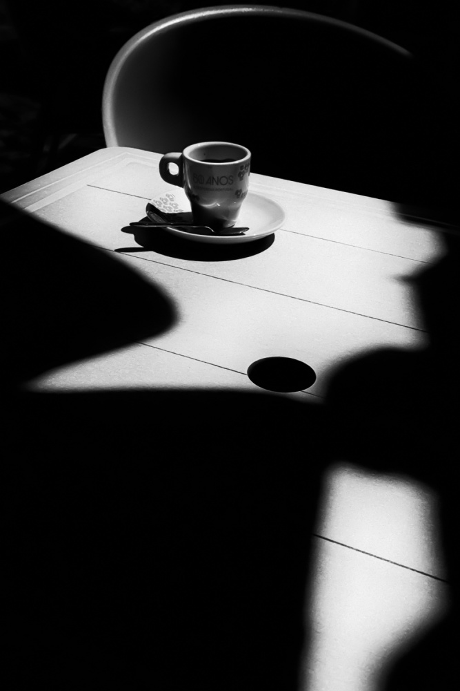 A piece of fine art art photography titled Coffee Time by Olavo Azevedo