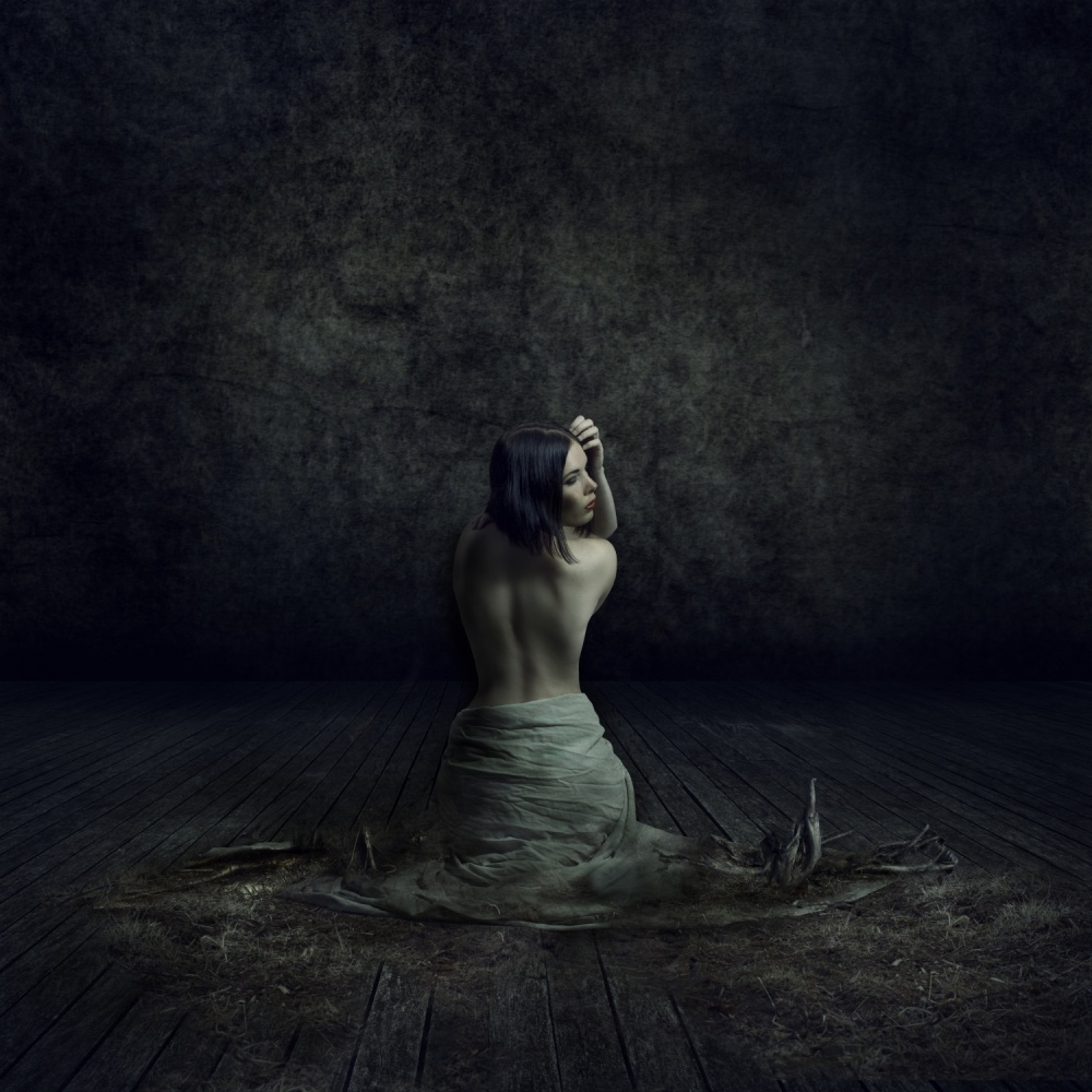 A piece of fine art art photography titled Disposed by Matthijs Smilde