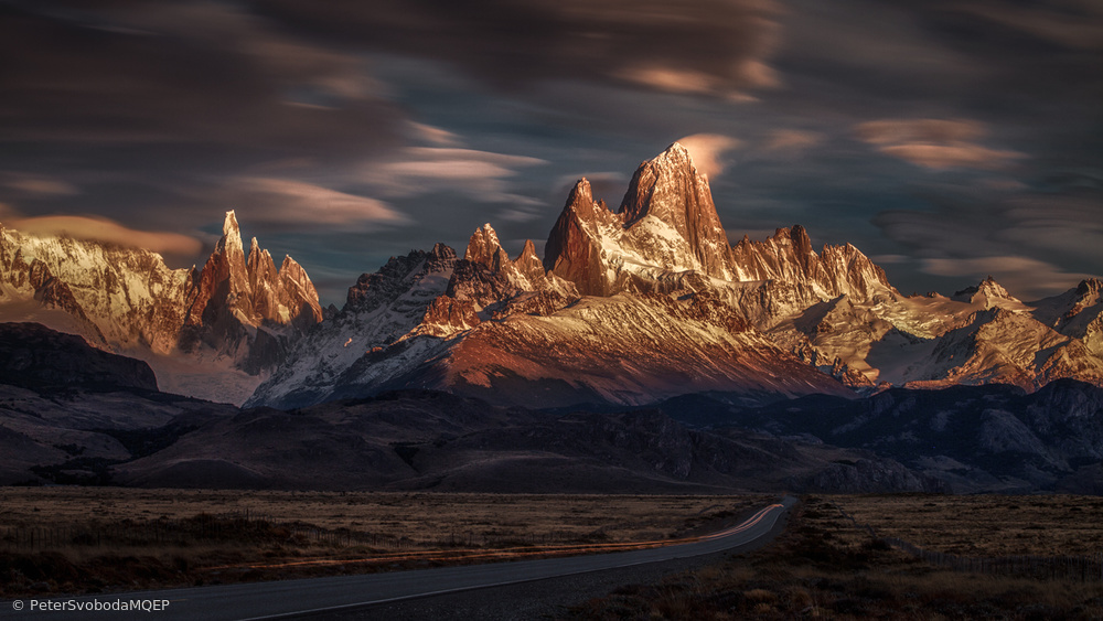 Patagonia sky in motion
