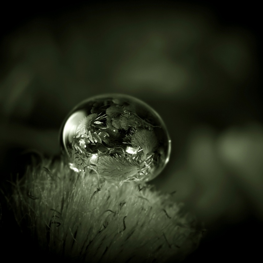 A piece of fine art art photography titled The Sphere by Szabolcs Sipos