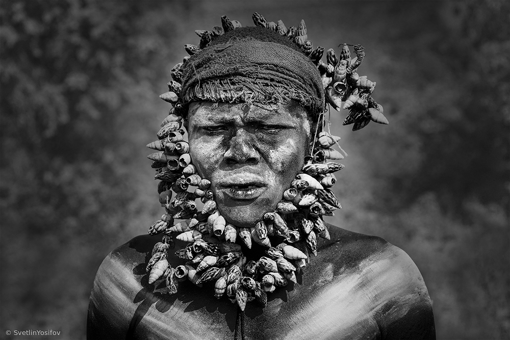 View this piece of fine art photography titled Warrior Omo Valley by gNo