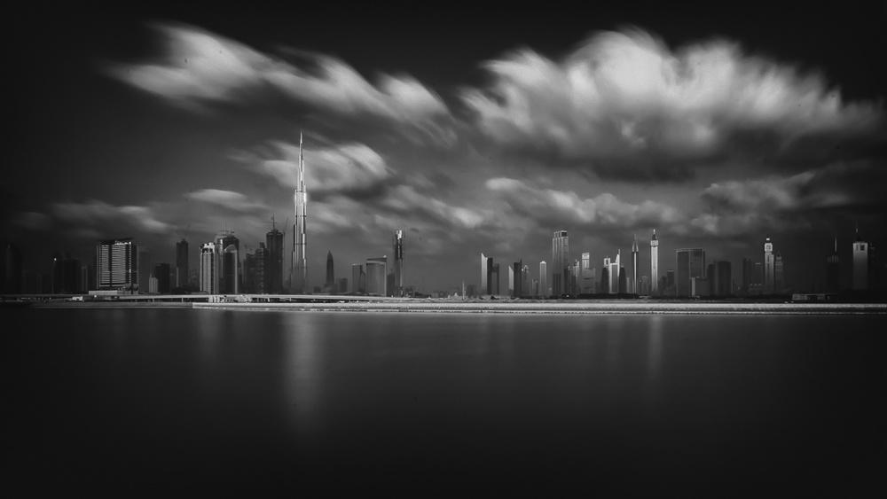 Cloudy Dubai Morning
