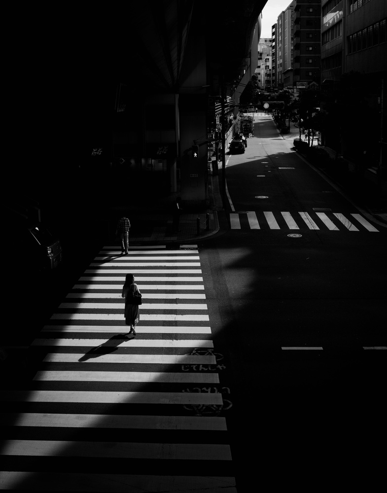 View this piece of fine art photography titled Tokyo street by Yasuhiro Takachi
