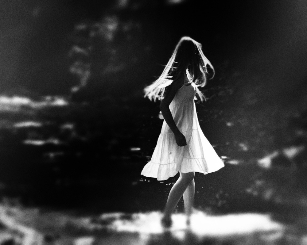 A piece of fine art art photography titled Morning Dance by OlinThe