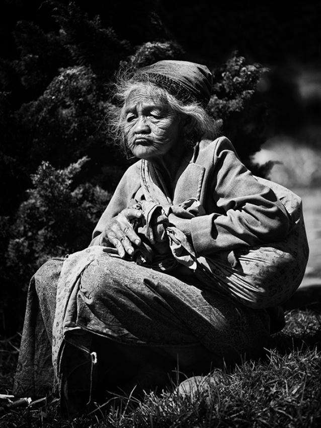 A piece of fine art art photography titled Old Wowen by haekalsolo