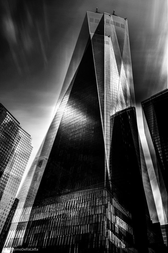 A piece of fine art art photography titled Grattaciel 2 by Massimo Della Latta