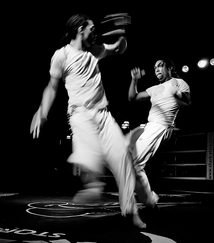 A piece of fine art art photography titled Capoeira by Novecento