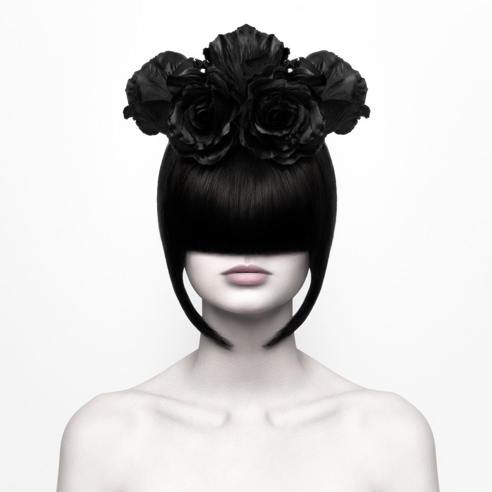 A piece of fine art art photography titled Black Widow by Martina Nemcekova EP