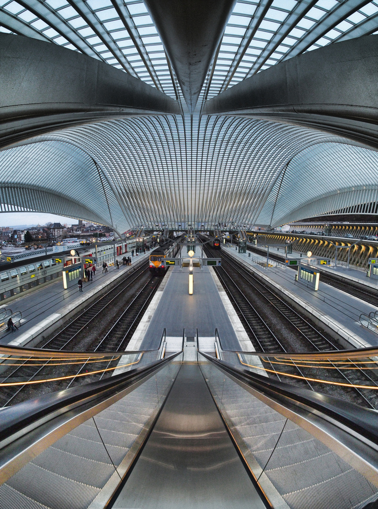 A piece of fine art art photography titled Calatrava's Hallucination by peniole