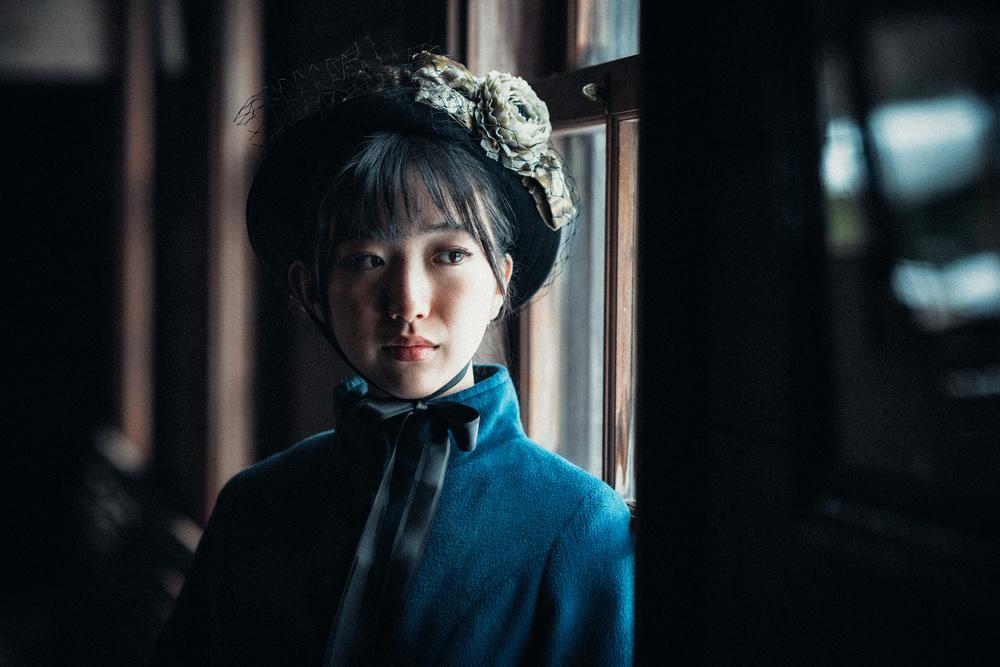 A piece of fine art art photography titled Shino by Nobu Ishijima