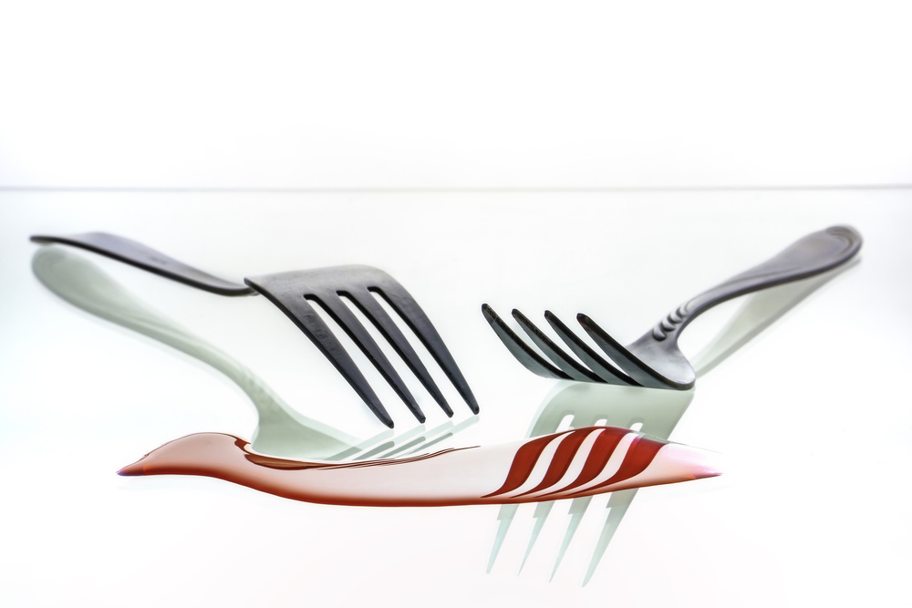 A piece of fine art art photography titled The Forks by Tom Pavlasek