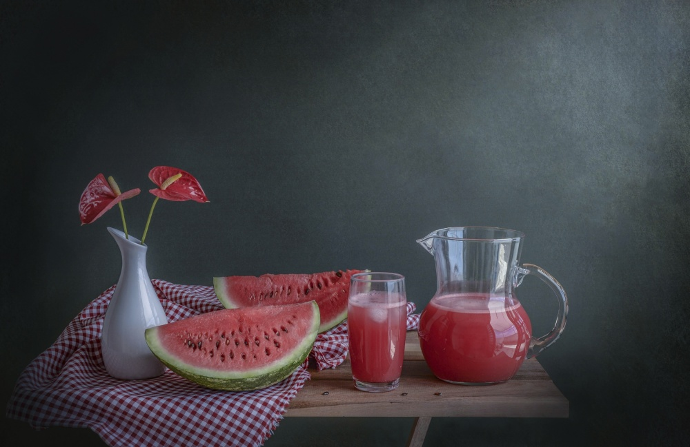 A piece of fine art art photography titled Refreshing by Margareth Perfoncio