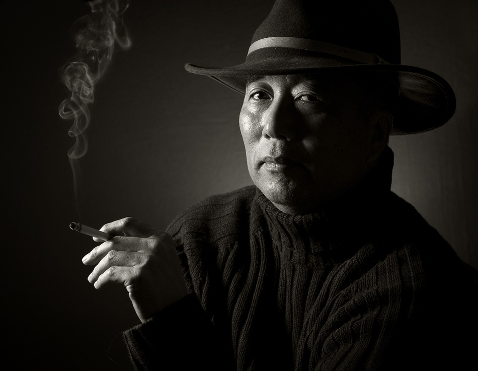 A piece of fine art art photography titled Mr Kitaoka by Tracy Martin