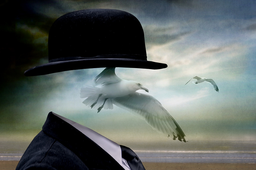 A piece of fine art art photography titled Free Your Mind by Ben Goossens