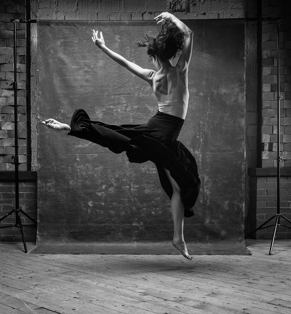 A piece of fine art art photography titled Dance by Boris Belokonov