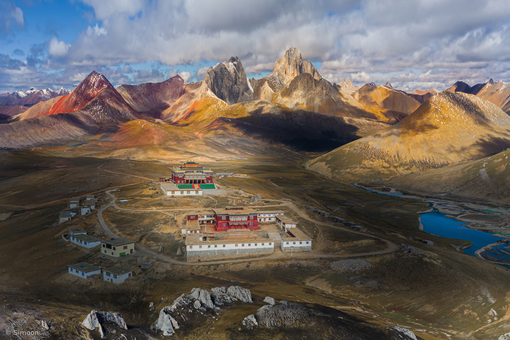 View this piece of fine art photography titled Tibet by Stani Szilagyi