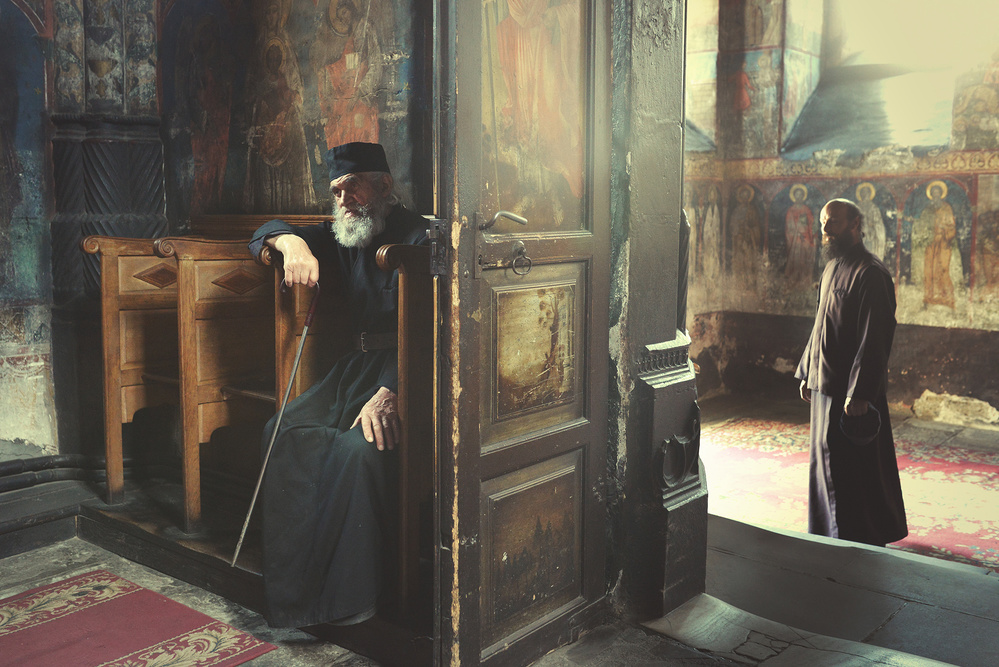 View this piece of fine art photography titled the monk by Cristina Venedict
