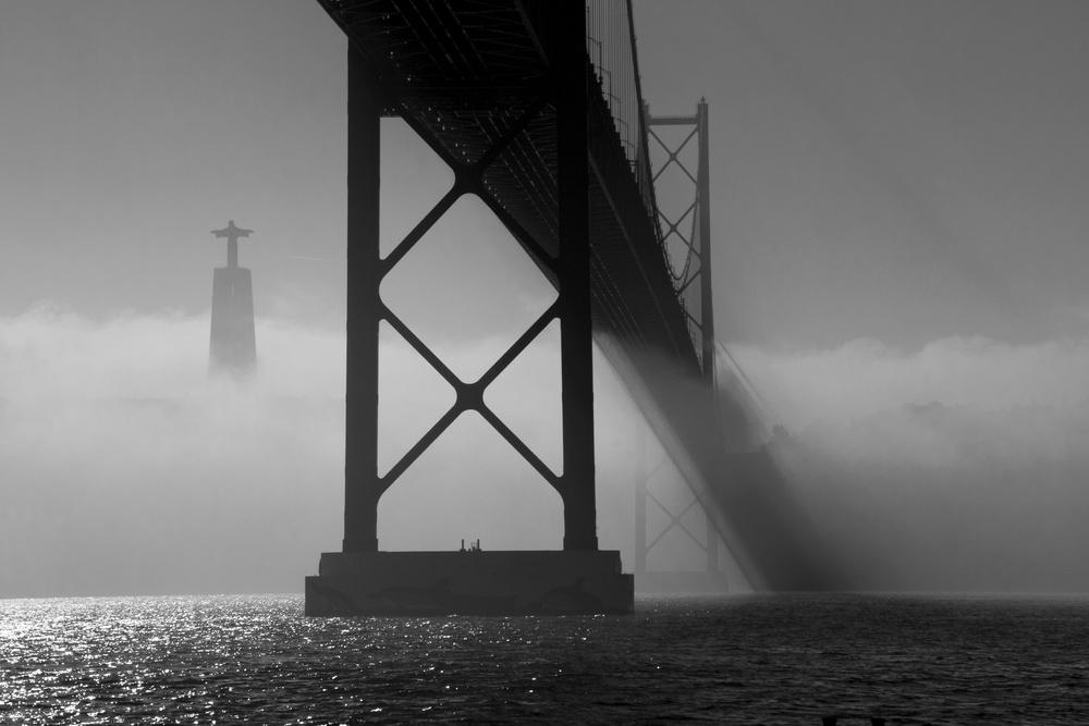 The fallen bridge