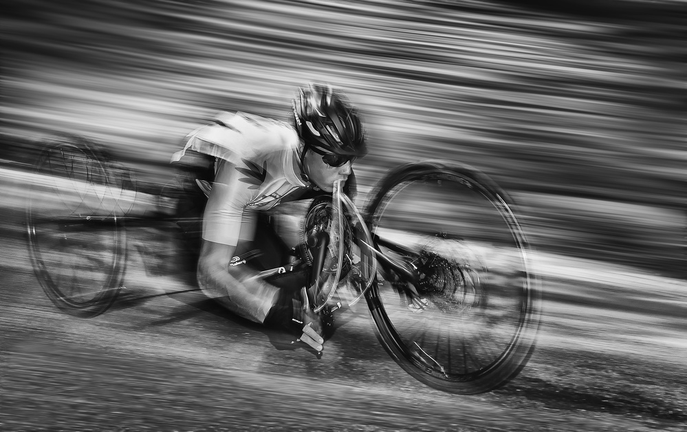 A piece of fine art art photography titled Speedmaster by Lou Urlings