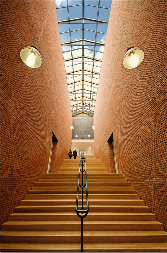 A piece of fine art art photography titled Upstairs by Cor Smits