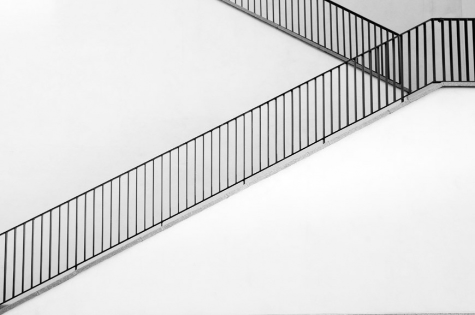 A piece of fine art art photography titled Stairs by Stefan Hellkvist