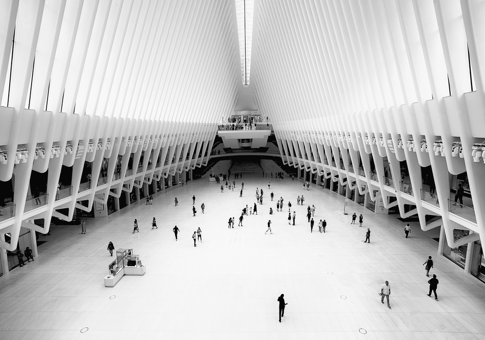 A piece of fine art art photography titled Meeting Place by Rob Darby