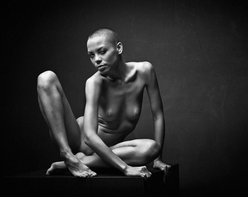 A piece of fine art art photography titled Give Me Your Derisive Gaze by Aufik