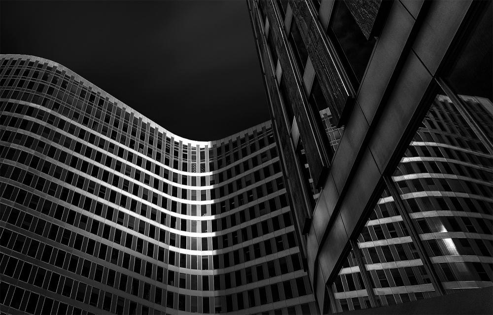 A piece of fine art art photography titled The Last Light by Jef Van den Houte