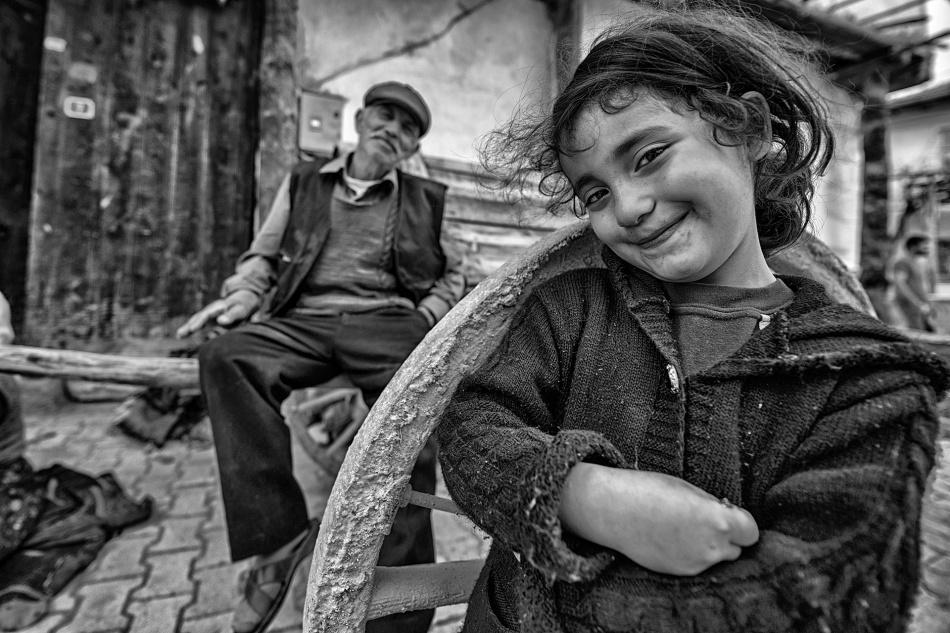 A piece of fine art art photography titled Happy Eyes by Veli Aydogdu